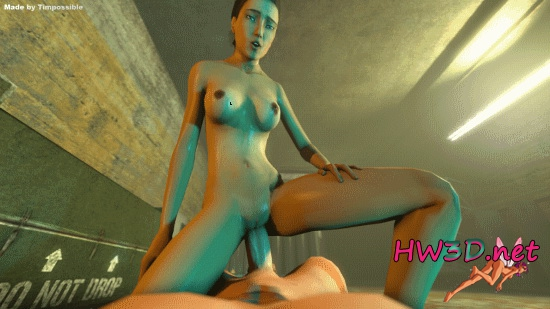 Some PoV-Action for Alyx (Half Life 2) 1080p GIF