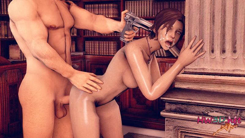 онлайн порно с ларой крофт