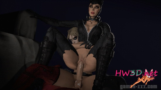 You will batman fuck catwoman well