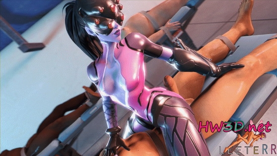 Widowmaker (Overwatch) 1080p GIF