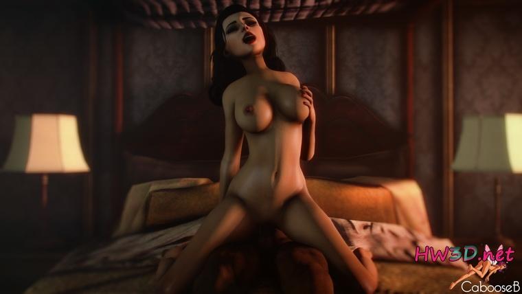 секс из видео bioshok элизабет с