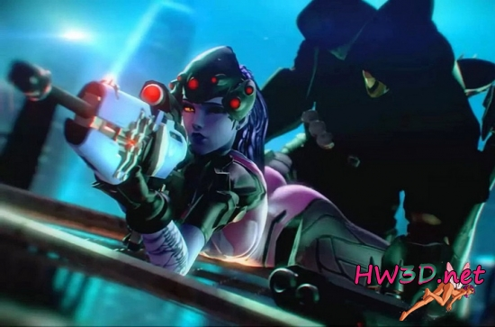 Widowmaker With Help from Reaper 720p Video