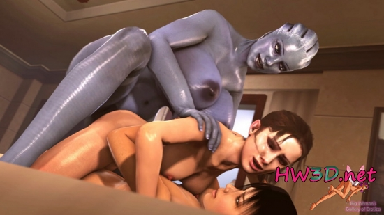Adri Liara Zoey Crossover 720p Video