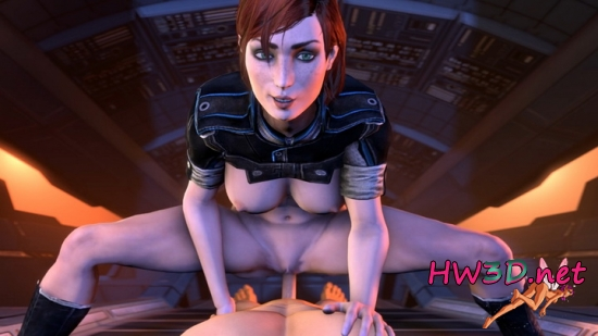 Mass Effect DAY Femshepard POV 720p Video