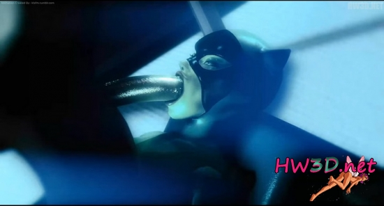 Catwoman throat fuck 720p Video