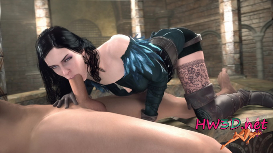 Blowjob From Yennefer 1080p Video