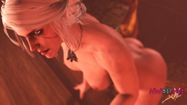 Ciri naked Triss