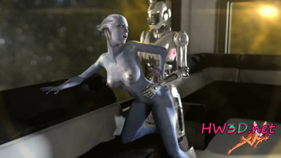 Liara and a Loki Mech 720p Video