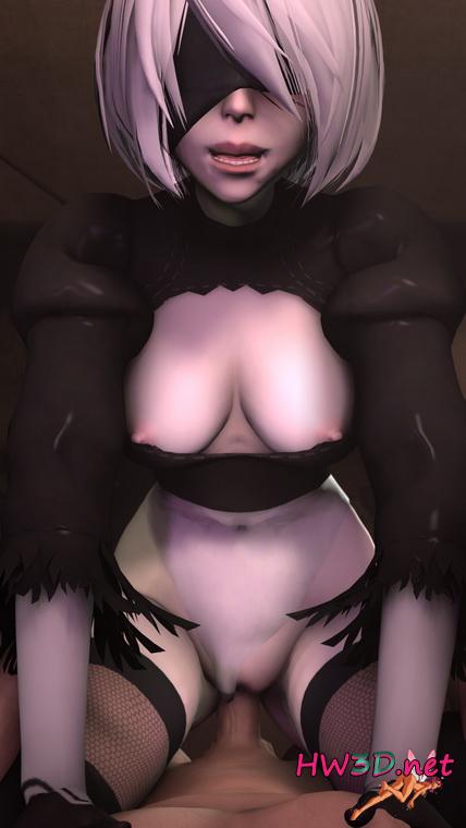 2B Порно Картинки (Nier: Automata)