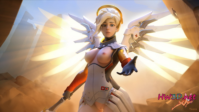 Nude Mercy (Overwatch)
