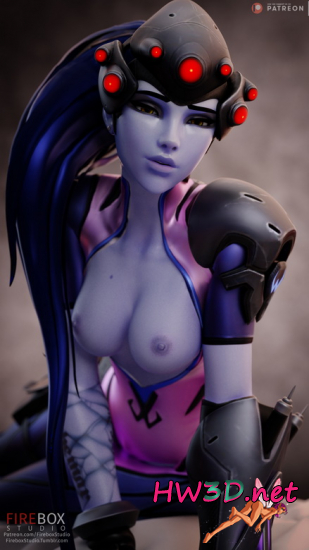 Naked Widowmaker (Overwatch)