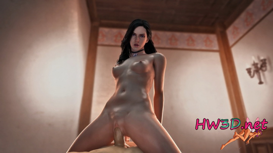Yennefer Cowgirl 1080p Video