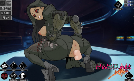 Female Reaper Fuck (Overwatch) Flash