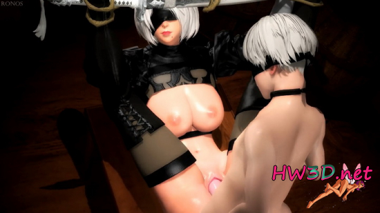 2B Bondage Play - All Versions 1080p Video