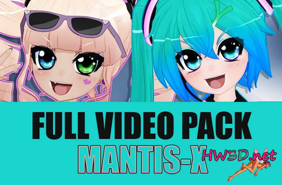 Mantis-X Animations FULL Video Pack (2018) 1080p Video