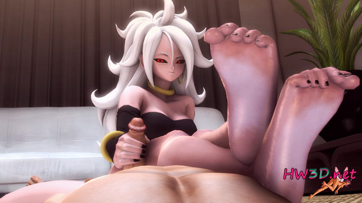 Android 21 handjob 1080p Video