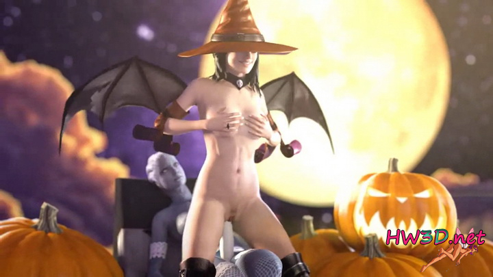 Miranda and Liara - Halloween Surprise 720p Video