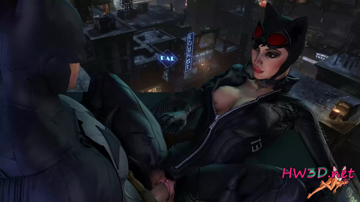 Batman Fuck Catwoman on Roof 1080p Video