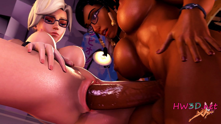 Pharah x Mercy Creampie Futa 1080p Video