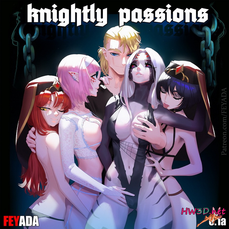 Knightly Passions / Рыцарские страсти v.0.2A (2020) English + Russian