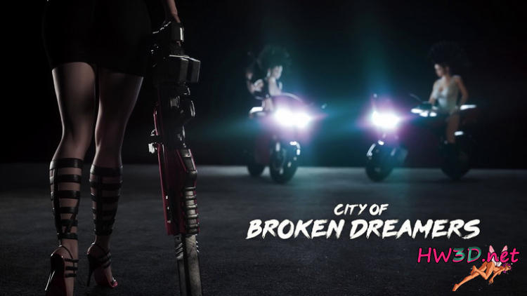 City of Broken Dreamers v.0.7.0 (2020) Russian  + Walkthrough
